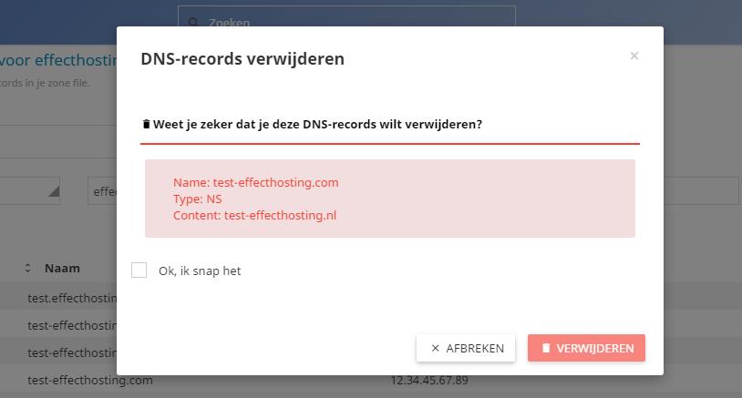 DNS-record-verwijderen