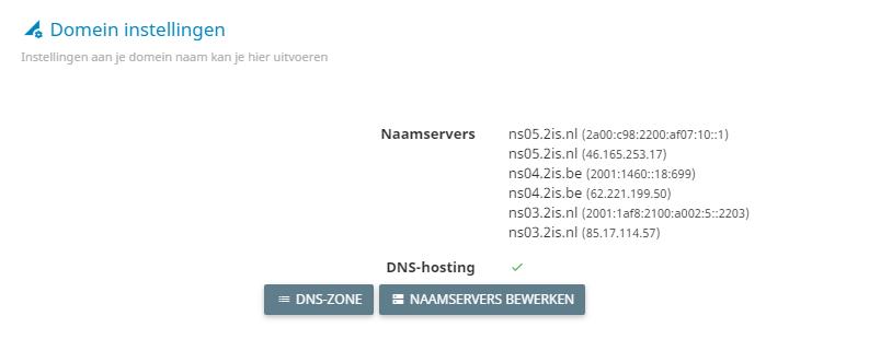 DNS-zone-aanpassen