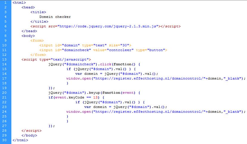 domainchecker_effecthosting