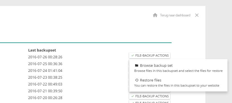 hosting fil-back-up effecthosting